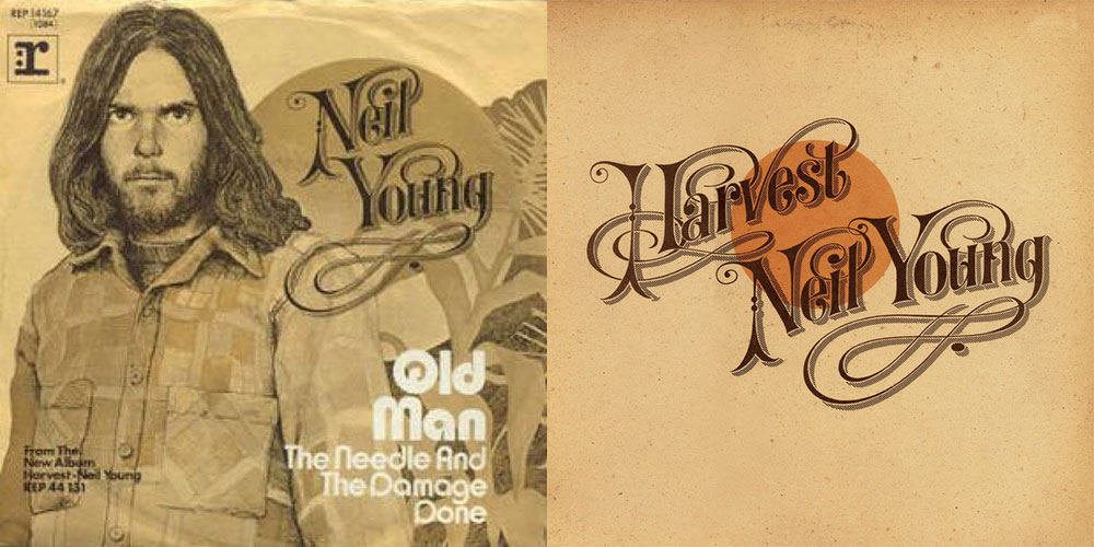 45s (singles) used to have artwork done for them as well. This is the artwork for Old Man and the Harvest album.